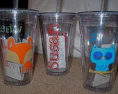 To-go tumbler customized to your style!