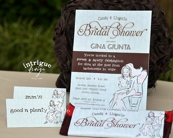 Candy Lingerie Bridal Shower - Print It Yourself package