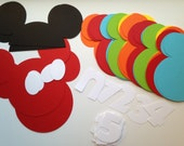 DIY Mickey Mouse Clubhouse First Year Photo Banner Kit