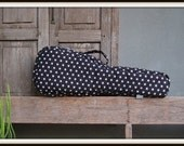 Concert ukulele case - Rock Star- Black and white star ukulele bag (Ready to ship)