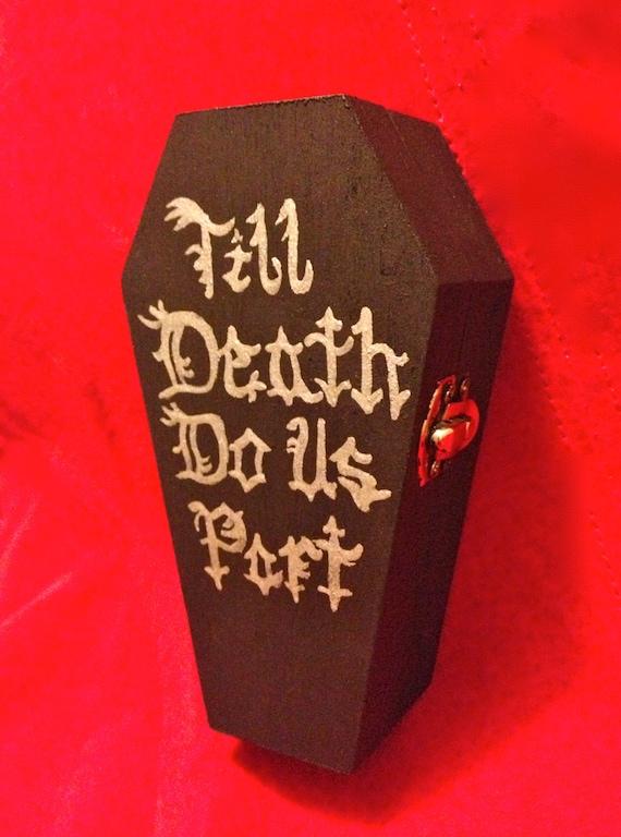Halloween Wedding Day Of The Dead Dia De Los Muertos Ring
