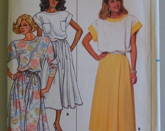 Vintage Butterick Womens Sewing Pattern 3875  size 8-10-12 Uncut