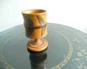 Hand Carved Wood Cup