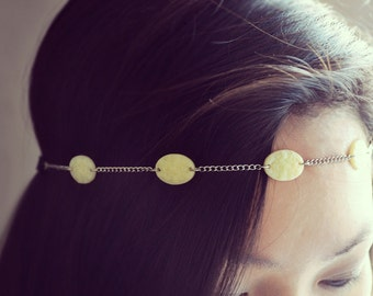 Ivory Rose Head Chain Band