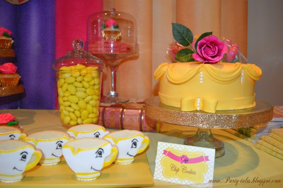 Princess Belle Party Decorations Glamorous Belle Birthday Party Supplies Images Inspiration
