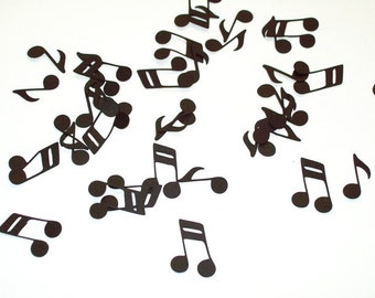 Music Note Confetti/ School Banquet/ Birthday/ Band/ 100 Pieces