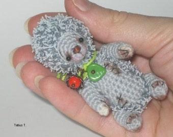 OOAK Amigurumi  Artist Miniature Crochet  Hedgehog