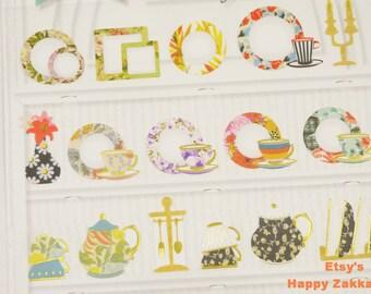 Plate - Sonia Stickers - Paper Deco Sticker - 1 Sheet