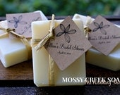 Bohemian Wedding Soap Favors, Earthy, Natural Wedding Favors