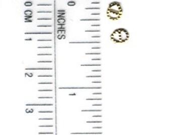 Miniature Metal Buckles set of 8