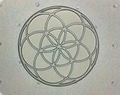 Flexible Resin Mold Sacred Geometry Seed of Life