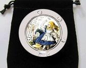 Alice in Wonderland Purse Hook Bag Holder Trendy Cool
