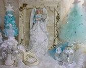 Angelique,  3-D Angel Art, Christmas Decoration