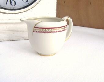 Porcelain Creamer/Milk Jug Royal Tettau US Zone Germany 1946 - 1949, China Creamer or Milk Jug, Porcelain Creamer