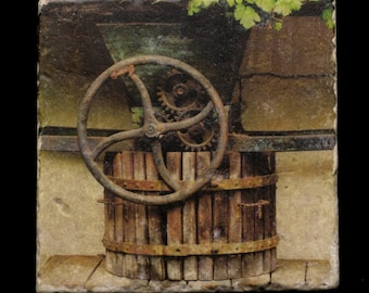 Coaster/Trivet - Wine Press