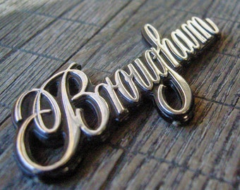 Fleetwood Brougham Emblem Great Condition Early 1990s