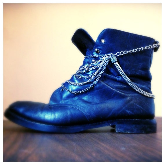 Upcycled Handmade Removable Boot Chain - 1961