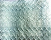 Gorgeous Vintage Lace Light Sea Foam Wide 3 yds