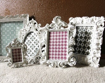 Shabby Chic set of 5 Frames