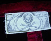 Skull and Cross Bones Patch for Halloween (or Pirates)