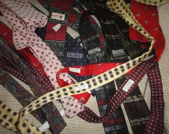 Ties and Ascots lot of over 35 1950's-90's
