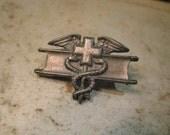 Us Army Vintage Expert Field Medical Badge Medal