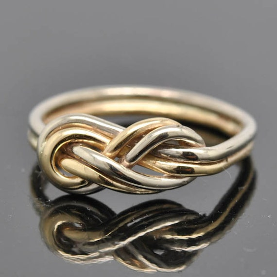 infinity ring infinity knot ring best friend promise
