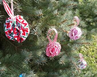 Fabric ornaments | Etsy