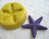 Starfish Flexible Food Grady Quality silicone mold for cake decor, fondants, cookies, Resin, wax,  jewelry making, FIMO, Sculpey etc.