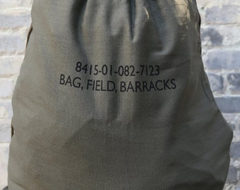 Canvas Barrack Laundry Bag