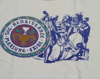 Vintage 80s The Renaissance Pleasure Faire T-Shirt