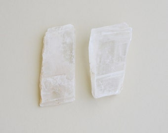 selenite crystal flat sheet (1 pc)