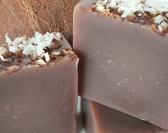 Toasted Coconut Soap - Natural, Cold Process, Vegan