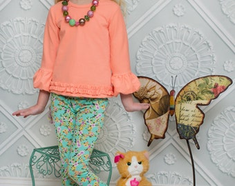 Brenda's Bubble Sleeve Top PDF Pattern Sizes 6-12m to 8 girls