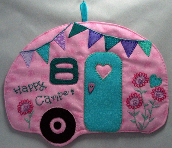 Happy Camper 25 Mug Rug