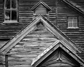 Cabin Study - Colorado – photograph matted 16x16