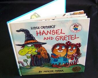 Vintage Mercer Mayer Book - Little Critter's Hansel and Gretel - 1991