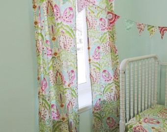 shimmery gold dot curtain panel. Black Bedroom Furniture Sets. Home Design Ideas