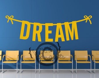 Dream - Vinyl Wall Art