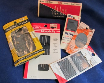 Sewing Needles Pins Crafts Prims Sharp Singer Simplicity Milwards