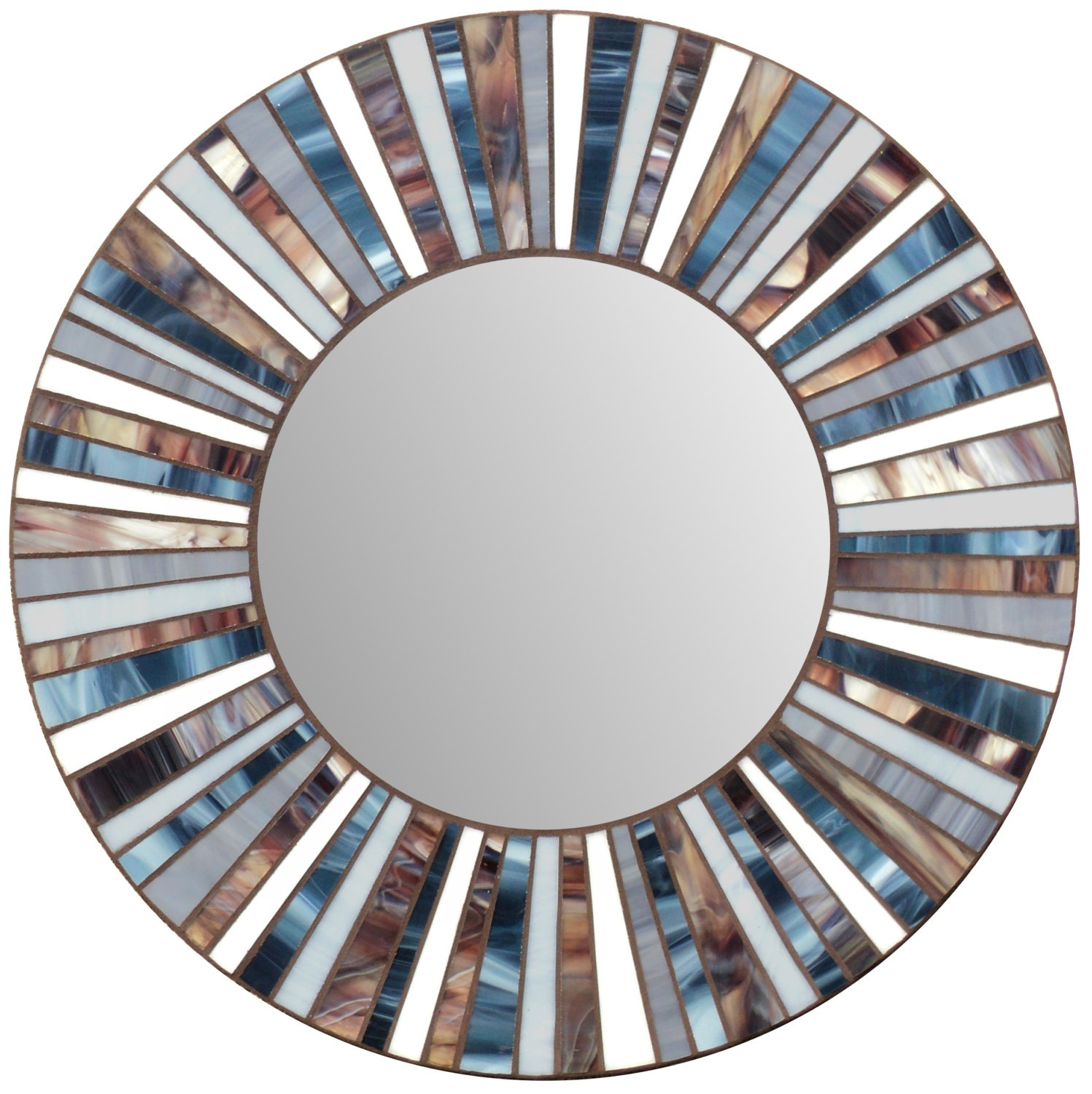 Stained glass mosaic mirror for Mosaic mirror