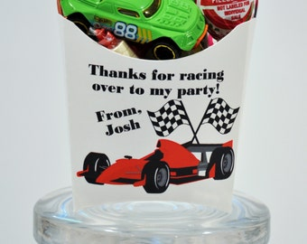 12 Car Racing Party Favors,  GLAMOROUS SWEET EVENTS