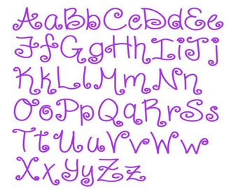 Download curly font