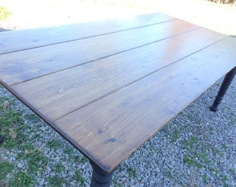 Wood Farm Tables, Dining Room Table, Pine Farm Tables, Antique Farm Table, Rustic Kitchen Table