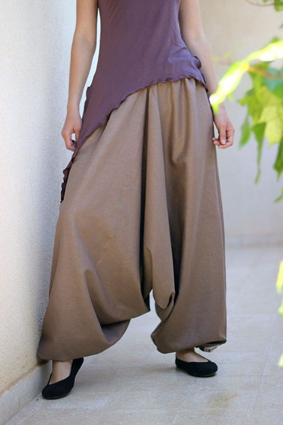 Boho Clothing Plus Size Pants Bohemian Women harem pants