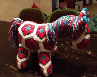 Fatty Lumpkin the Brave African Flower Pony