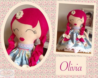 Olivia Keepsake Doll