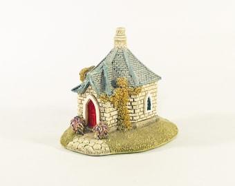 Vintage Lilliput Lane Cottage House, 1991 Farthing Lodge English Collection, UK Seller