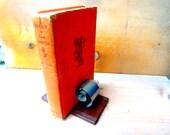 Vintage book holder book end