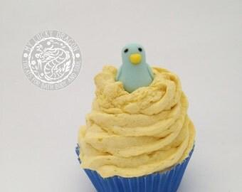 Blue Bird Soap Cupcake